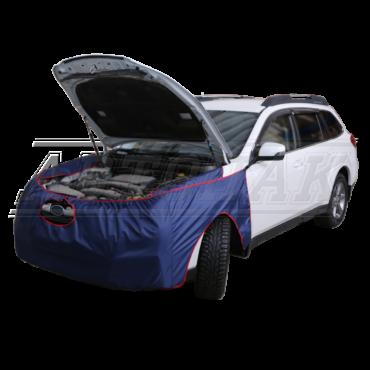 Накидки на переднюю часть автомобиля тканевые