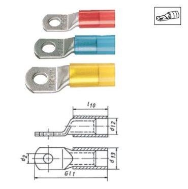 Изолированные трубчатые кабельные наконечники и соединители