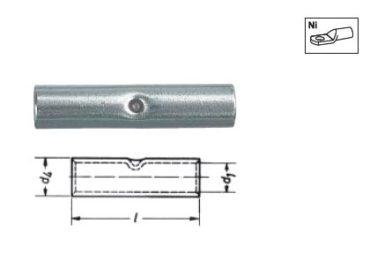 Никелевые трубчатые кабельные наконечники и соединители
