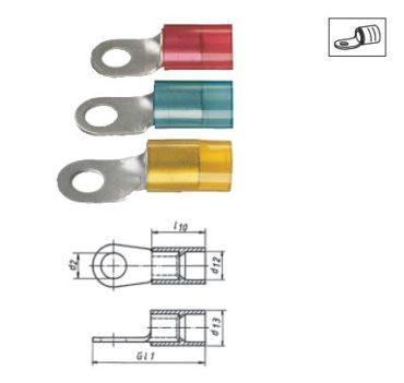 Изолированные кабельные наконечники из листовой меди