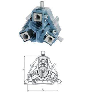 Компактные разводные соединители из высокопрочного алюминиевого сплава