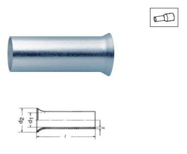Втулочные кабельные наконечники по стандарту DIN 46228, часть 1 и часть 2