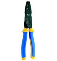 Механический инструмент для опрессовки наконечников и для резки провода/кабеля